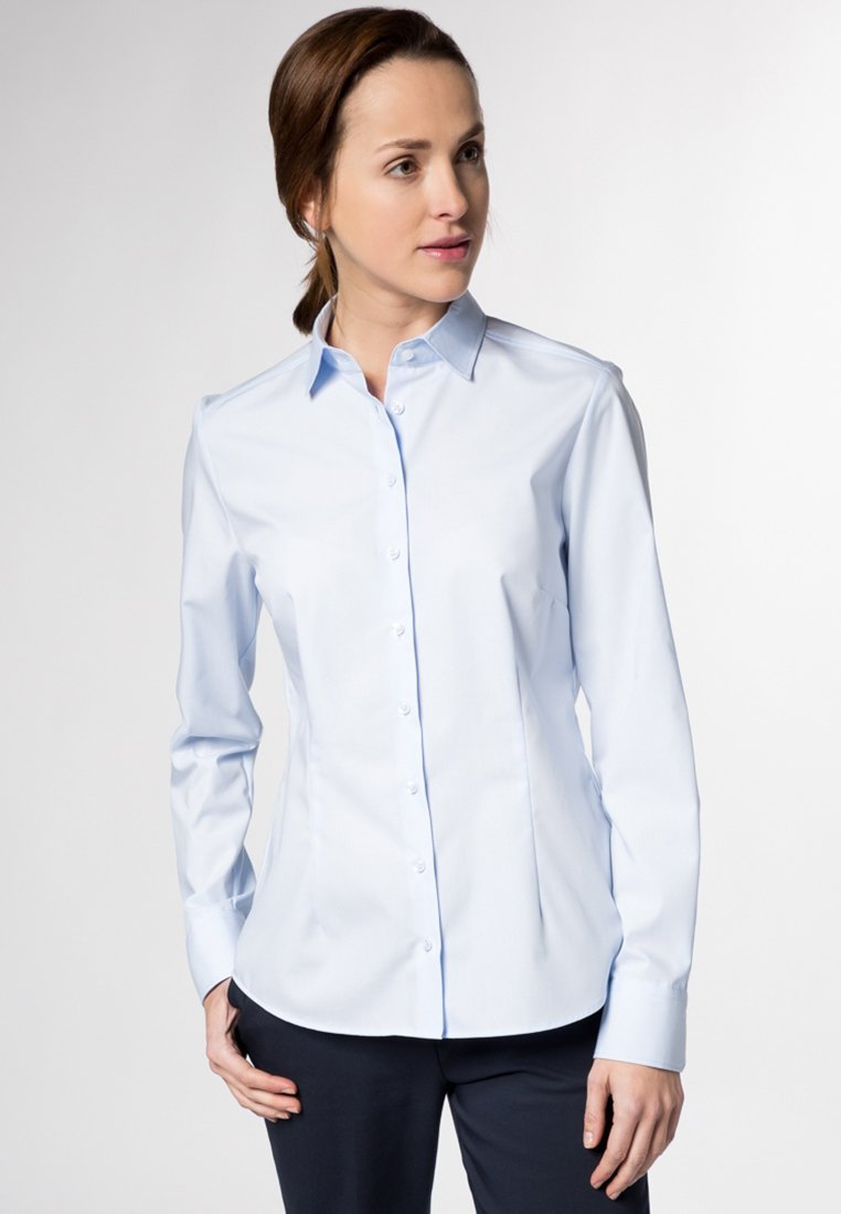 Eterna MODERN CLASSIC - Overhemdblouse - hellblau - Dameskleding Uniseks