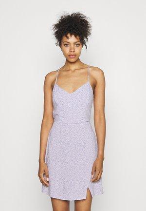SHORT DRESS - Kjole - lavender