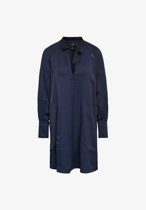 V-NECK TUNIC - Tunic - dark blue