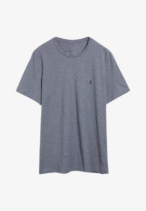 JAAMES STRUCTURE - T-shirt imprimé - light pacific ink light linen
