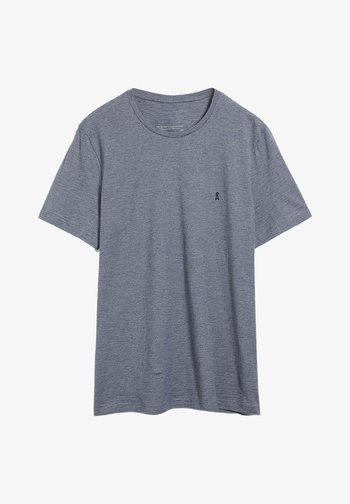 JAAMES STRUCTURE - Print T-shirt - light pacific ink light linen