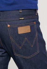 Wrangler - 11MWZ - Jeans straight leg - dark blue - 5