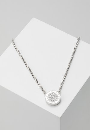NECKLACE MEDALLION - Halsband - crystal