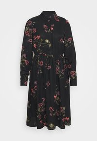 Vero Moda - VMGALLIE DRESS - Shirt dress - black - 3