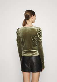 Monki - OLISA - Long sleeved top - khaki green - 2