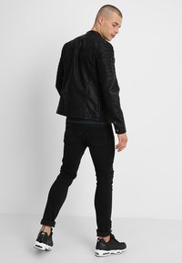 Only & Sons - ONSSACHO - Faux leather jacket - black - 2