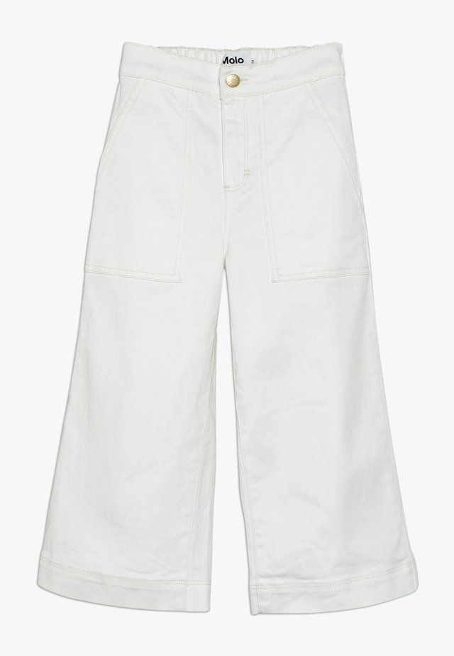 ALYNA - Jeans baggy - white star