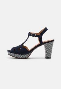 Chie Mihara - EGEO - Sandalen met plateauzool - nuit/miranda - 1