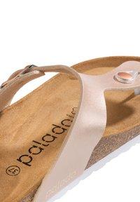 Palado - T-bar sandals - rose bronze - 4