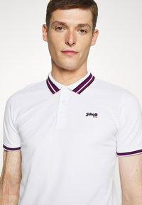 Schott - HENRY - Polo shirt - white - 3