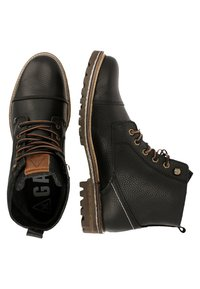 Gaastra - CAPE MID TMB FLT  - Lace-up ankle boots - black - 1