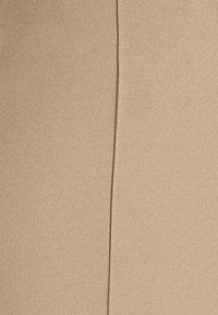 Missguided Tall - SEAM STRAIGHT LEG TROUSER - Kangashousut - stone - 2