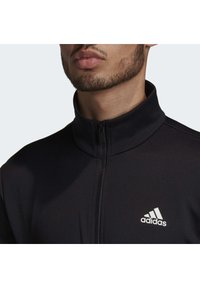 adidas Performance - FABRIC MIX TRACKSUIT - Träningsset - black - 5