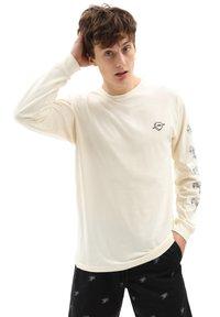 Vans - MN LOVE HATE LS - Long sleeved top - seedpearl - 0