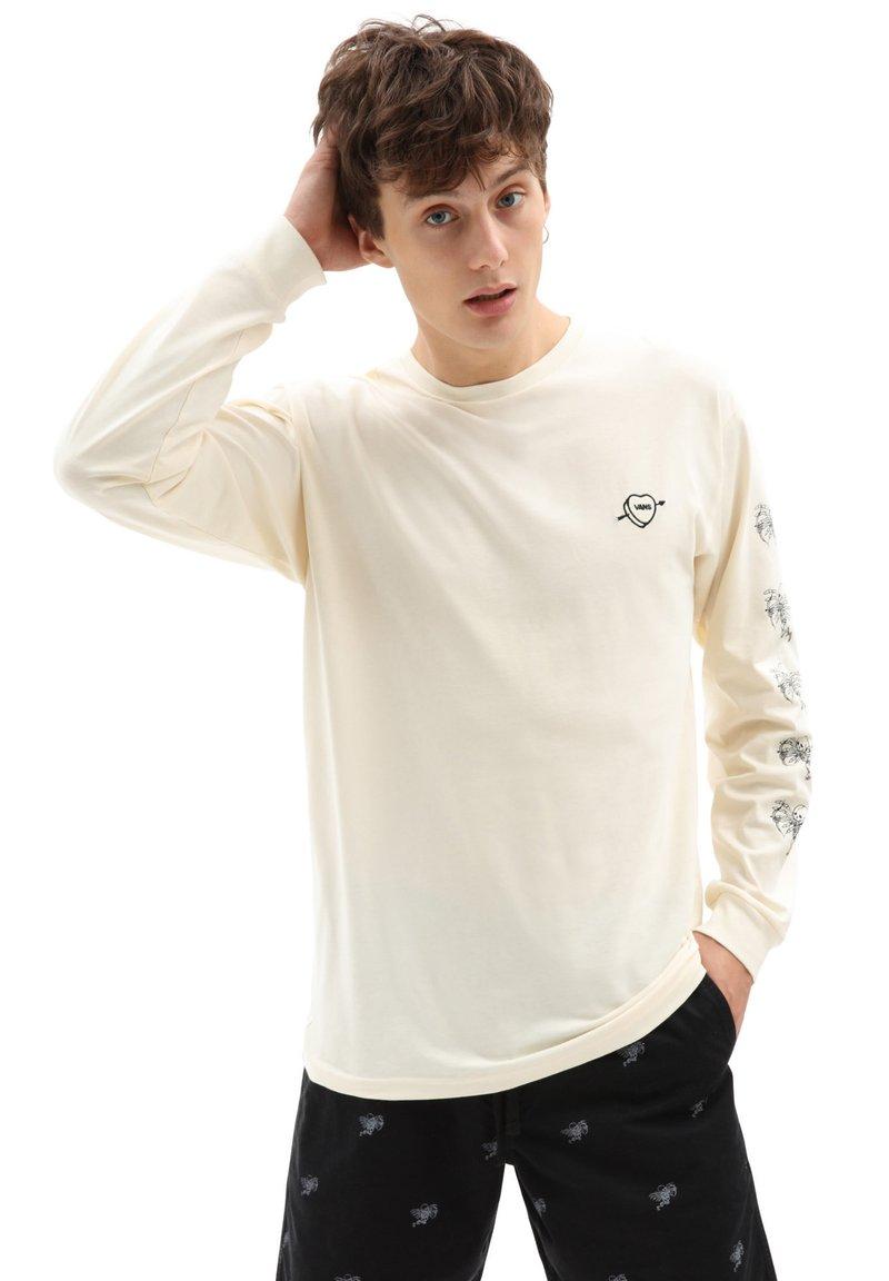Vans - MN LOVE HATE LS - Long sleeved top - seedpearl
