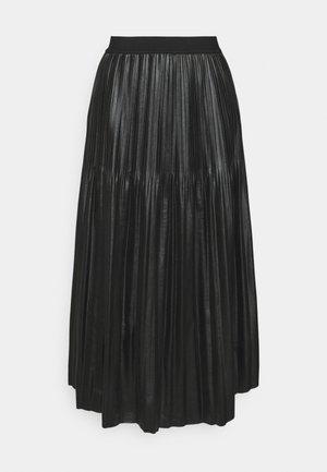 SKIRT - Pleated skirt - black
