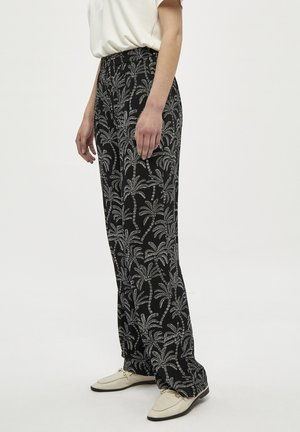 ISABELLA - Trousers - black