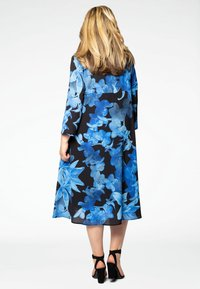 Yoek - Day dress - blue/black - 2