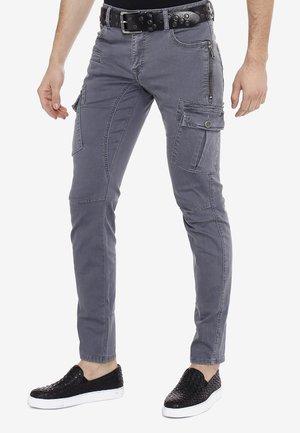 Slim fit jeans - grijs