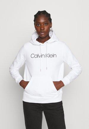 CORE LOGO HOODIE - Sweatshirt - white