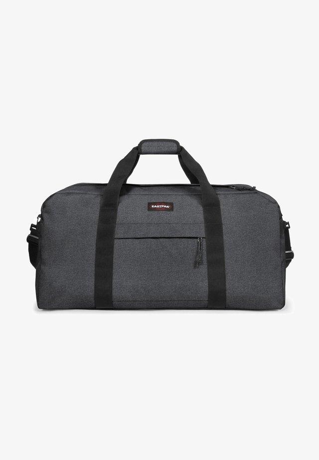 TERMINAL  - Weekend bag - black denim