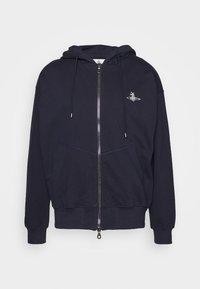 Vivienne Westwood - RUGGED ZIP HOODIE - Zip-up hoodie - navy - 4