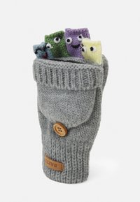 Barts - PUPPET BUMGLOVES UNISEX - Gloves - hether grey - 2