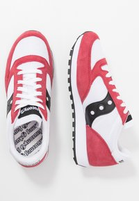Saucony - JAZZ ORIGINAL VINTAGE - Sneaker low - white/red/black - 1