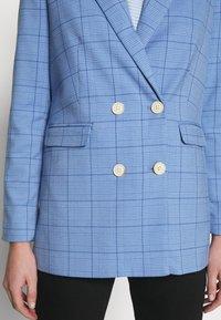 mine to five TOM TAILOR - MODERN GLENCHECK - Blazer - blue/check design - 5