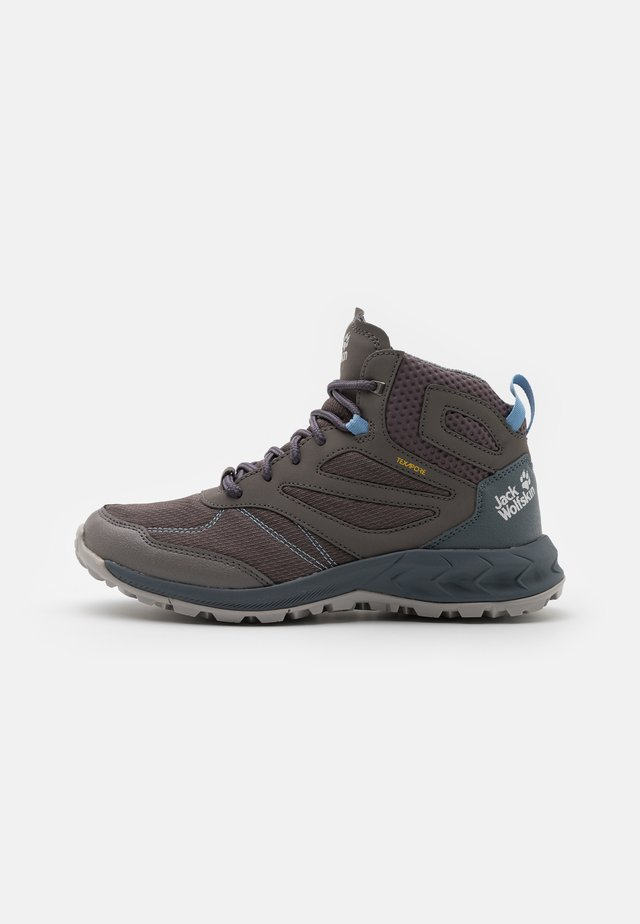 WOODLAND TEXAPORE MID - Outdoorschoenen - grey/light blue