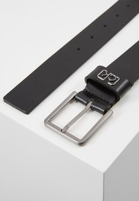 Calvin Klein - SIGNATURE BELT CARDHOLDER SET - Vyö - black - 3