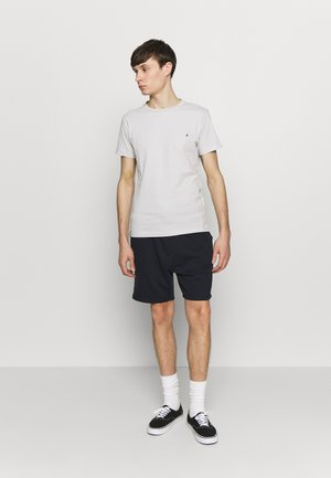 2 PACK - Basic T-shirt - cold grey/navy