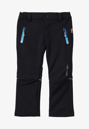 KIDS FJELL PANT - Pantalons outdoor - black