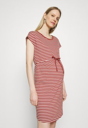OLMMAY LIFE DRESS - Jerseykjole - apple butter