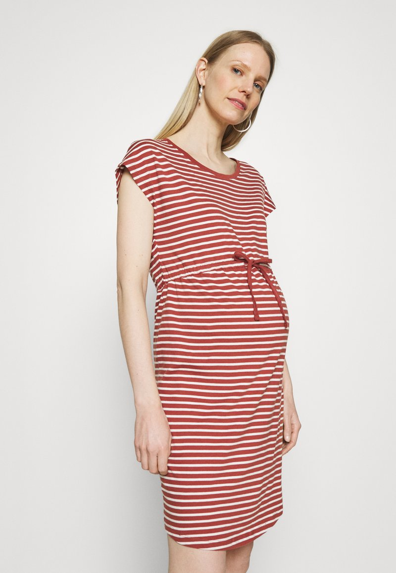 ONLY - OLMMAY LIFE DRESS - Jersey dress - apple butter