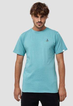 ANKER - T-shirt basic - aqua