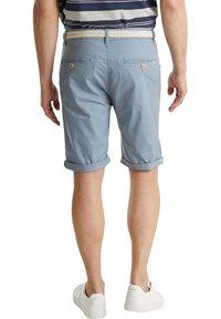 Esprit - MIT GÜRTEL - Shorts - grey blue - 2