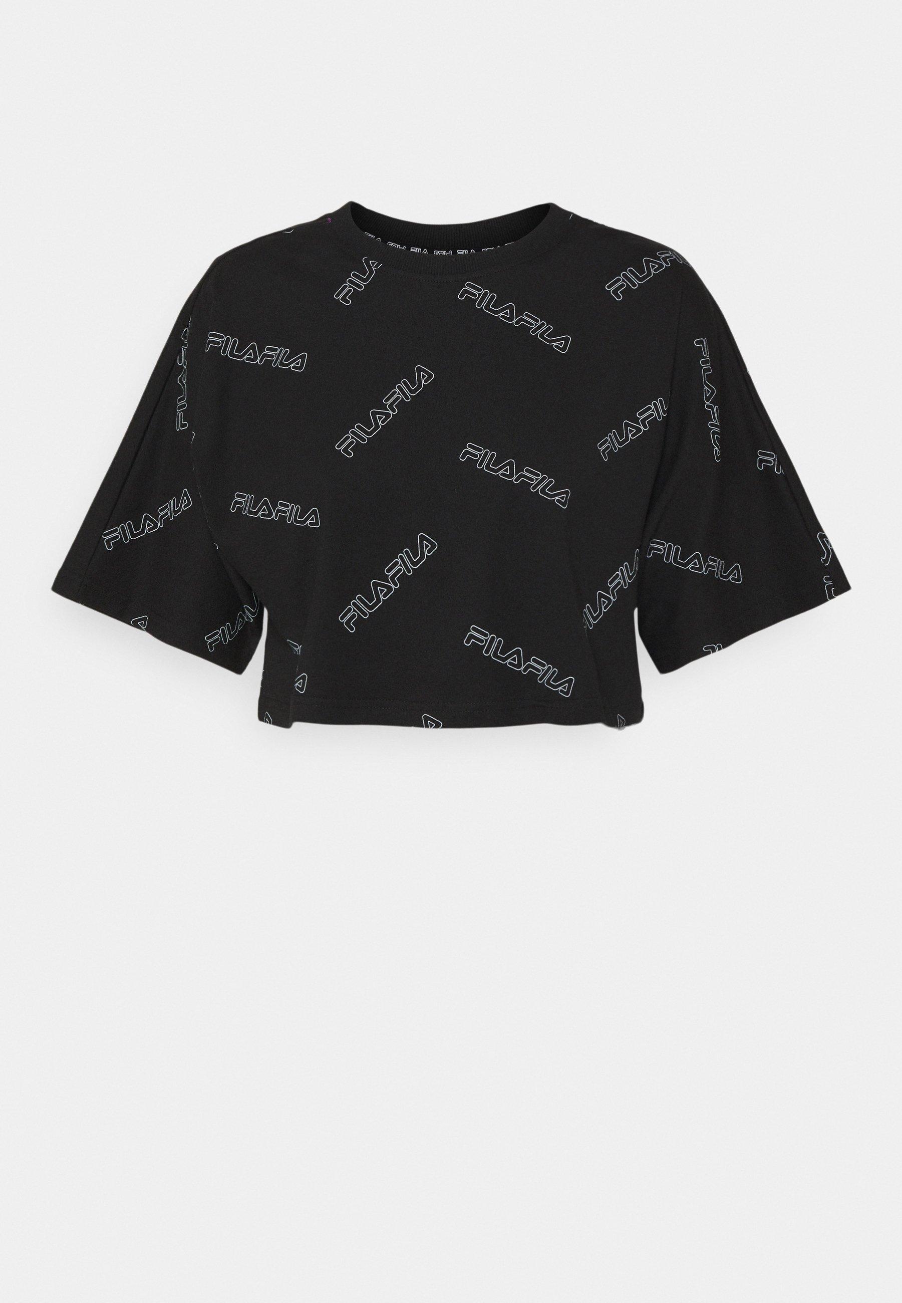 Women JAMILIA WIDE CROPPED TEE - Print T-shirt