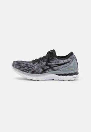 GEL NIMBUS 23 KNIT - Neutral running shoes - sheet rock/black
