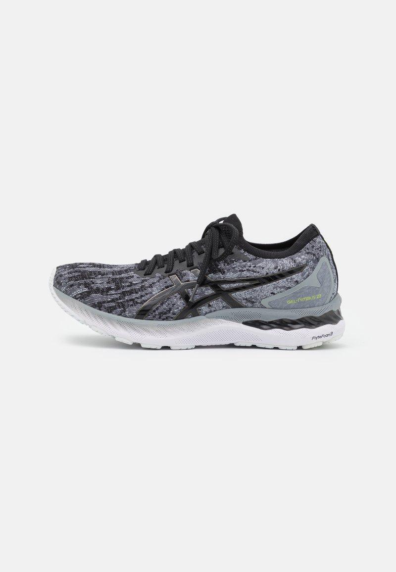ASICS - GEL NIMBUS 23 KNIT - Neutral running shoes - sheet rock/black