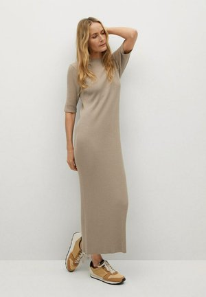 CANE-A - Maxi dress - licht/pastelgrijs