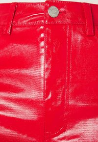 Weekday - RALPH COATED TROUSERS - Trousers - bright red - 2