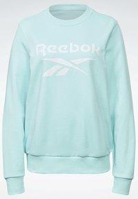 Reebok - FRENCH TERRY BIG LOGO SWEATSHIRT - Sweatshirt - blue - 6