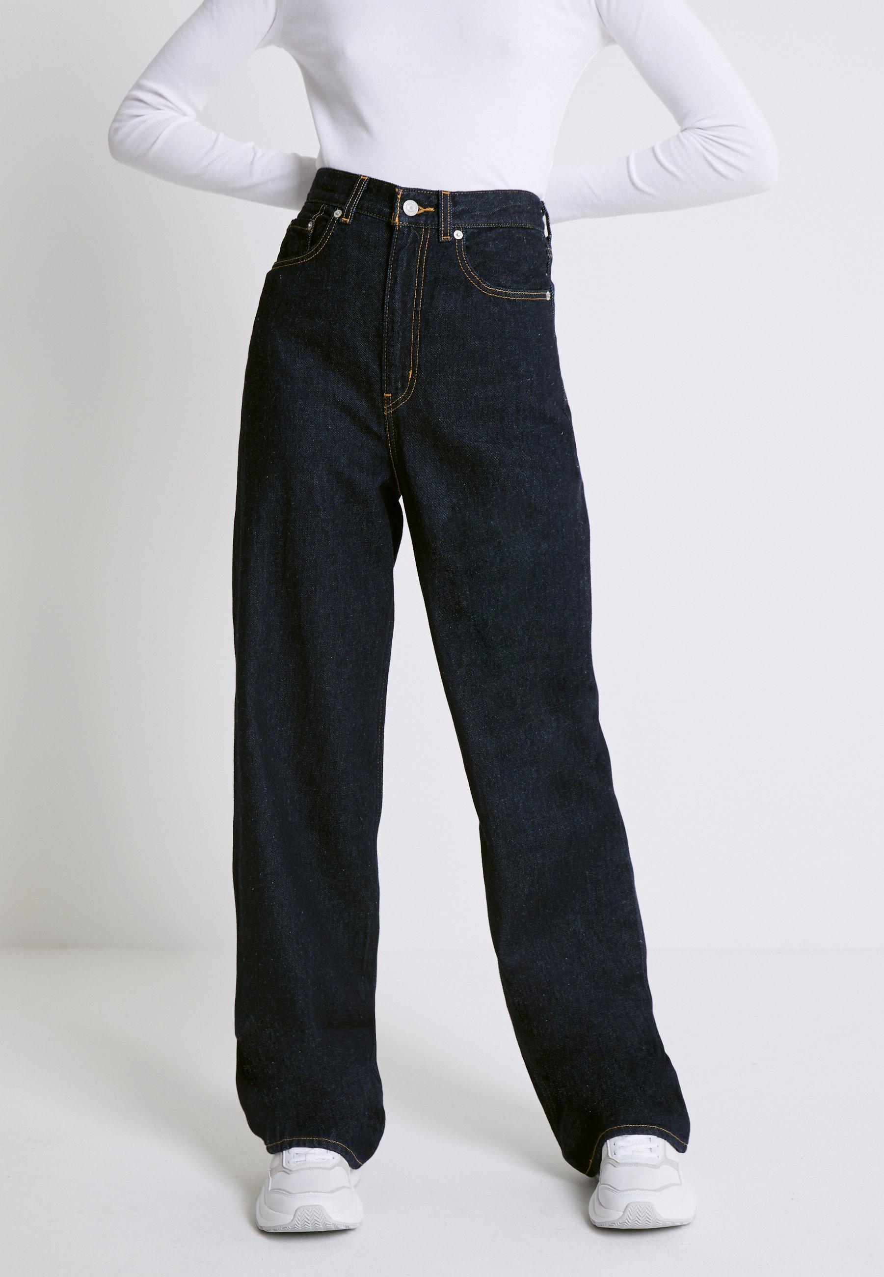 Blue BALLOON PANTS  See by Chloé  Baggy bukser - Dameklær er billig