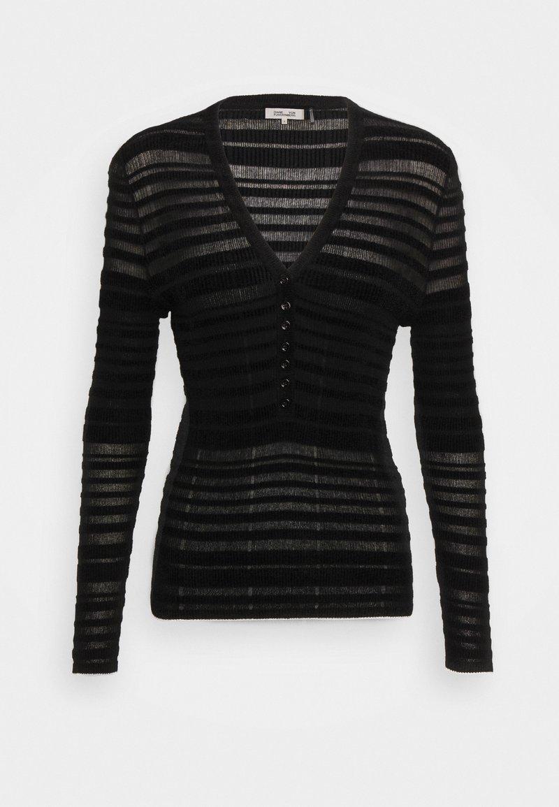 Diane von Furstenberg - ALMA - Neule - black