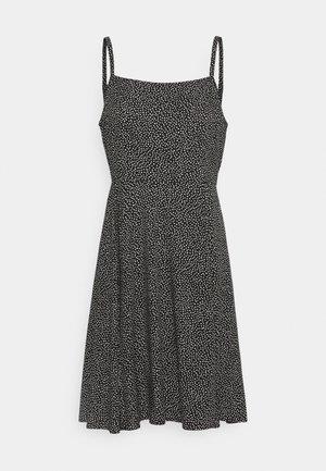 CAMI DRESS - Freizeitkleid - black