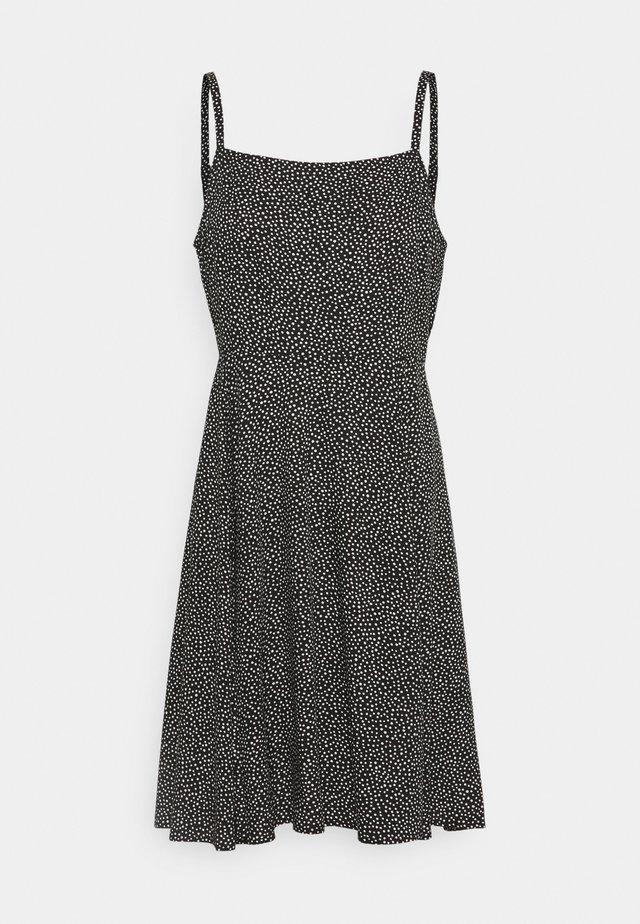 CAMI DRESS - Korte jurk - black