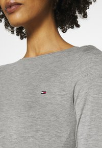 Tommy Hilfiger - BOAT NECK TEE 3/4 - Long sleeved top - grey - 4