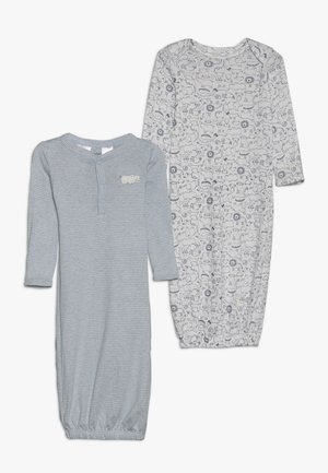 GOWN BABY 2 PACK - Pyjama - blue