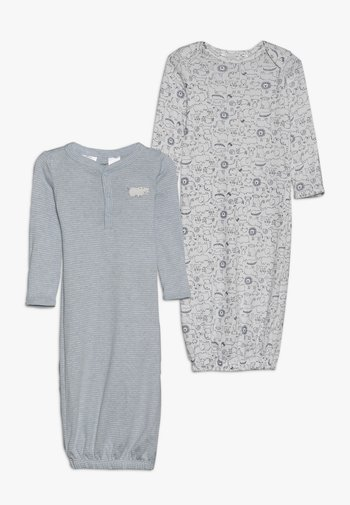 GOWN BABY 2 PACK - Pyjamas - blue